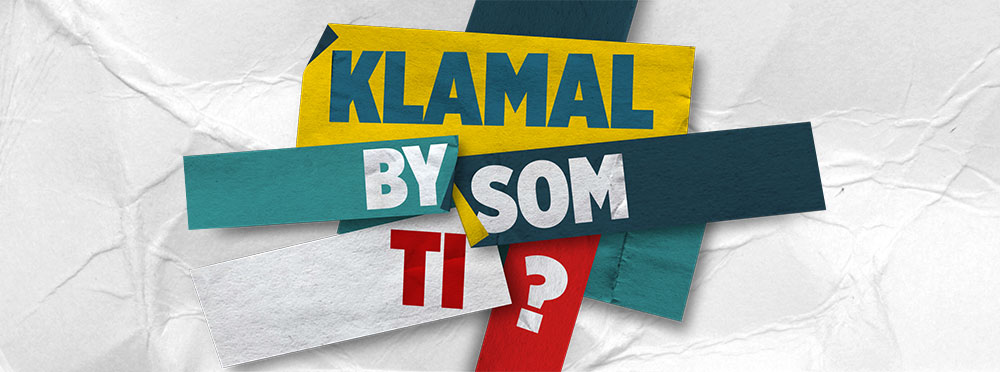 Klamal by som ti cover