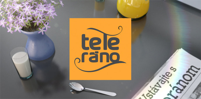 Teleráno - button