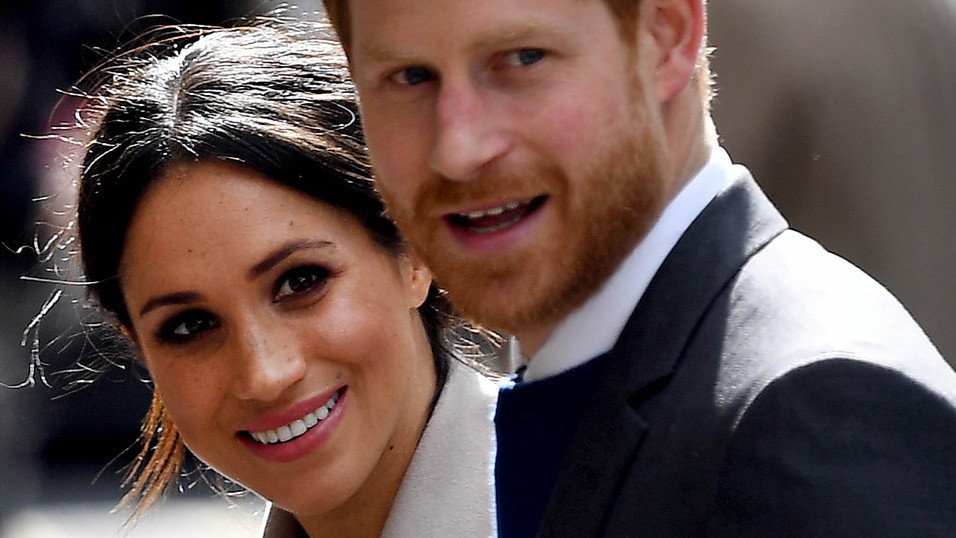Meghan a Harry.