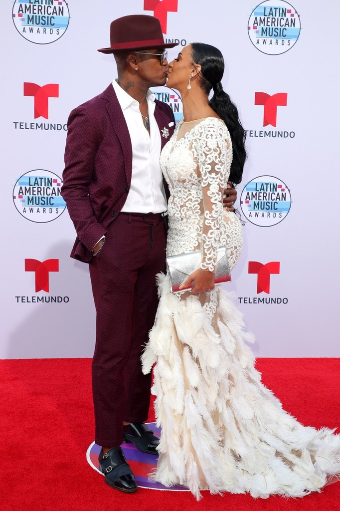 Ne-Yo a Crystal Renay na Latin American Music Awards