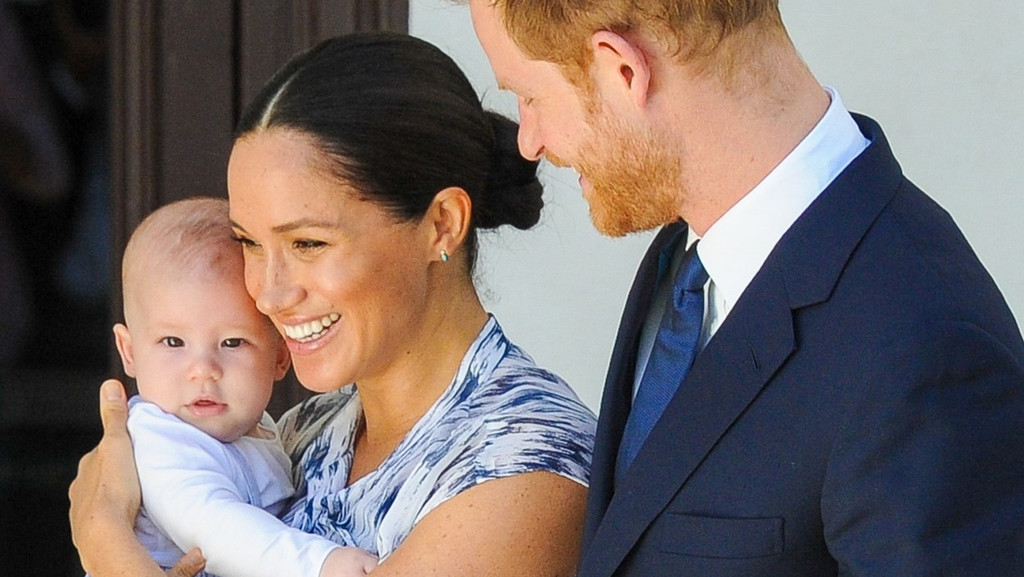 Meghan, Harry, Archie.