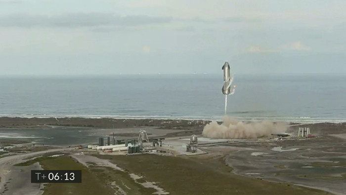 Test SpaceX Starship.
