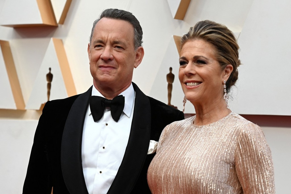 Tom Hanks a Rita Wilson