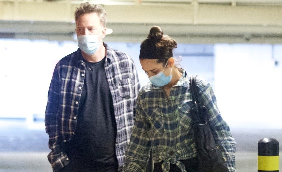 Matthew Perry a Molly Hurwitz