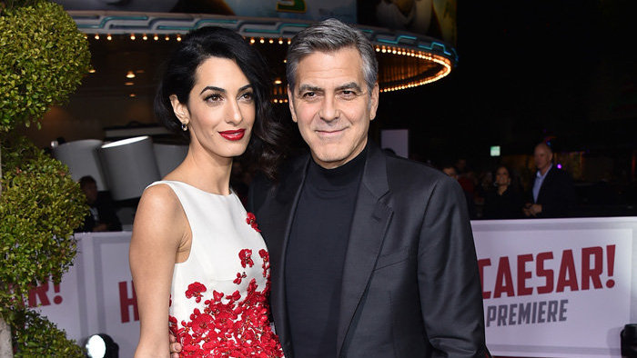 Amal a George Clooney.