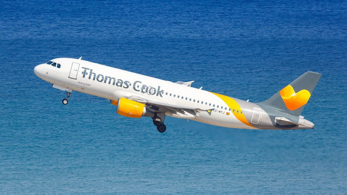 Thomas Cook Airlines.