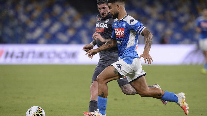 Napoli a Udinese