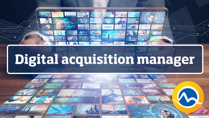 Digital acquisition manager