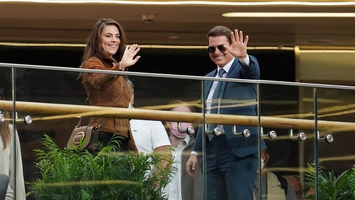 Hayley Atwell a Tom Cruise