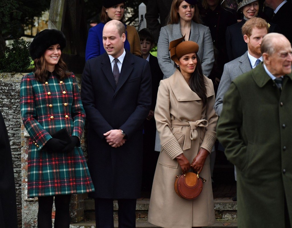 Kate Middleton, princ William, Meghan a Harry