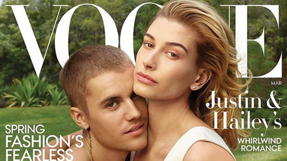 Justin a Hailey na titulke Vogue