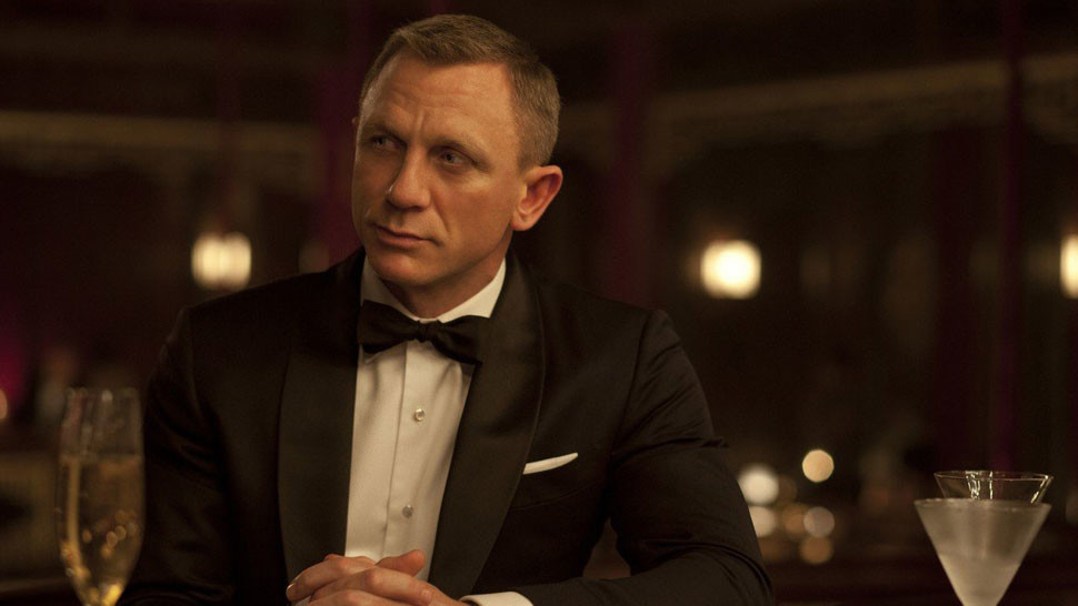 Daniel Craig ako James Bond