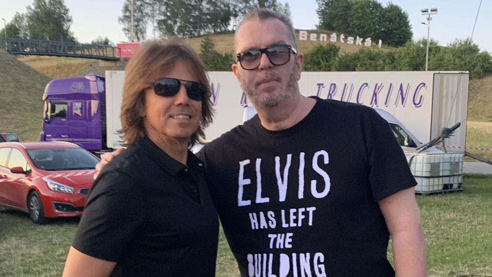 Joey Tempest a Richard Müller