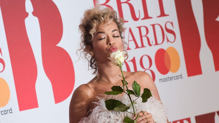 Rita Ora na Brit Awards 2018