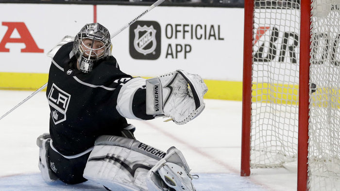 Brankár LA Kings Jonathan Quick.