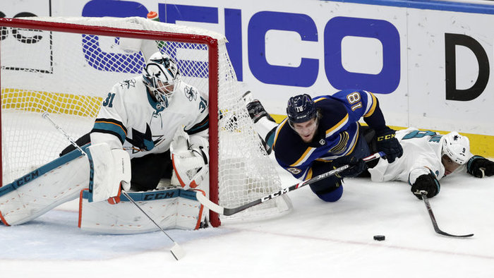 St. Louis Blues a San Jose Sharks