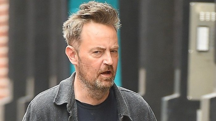 Matthew Perry v uliciach NYC