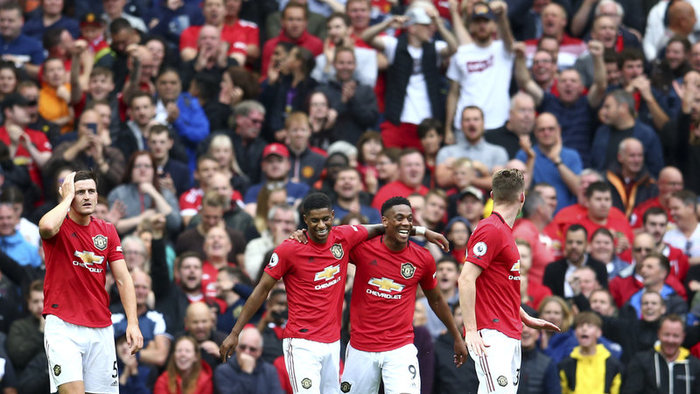 Manchester United a Chelsea